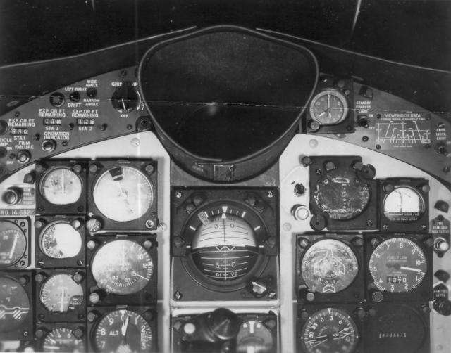 F9F-8P Cougar Cockpit