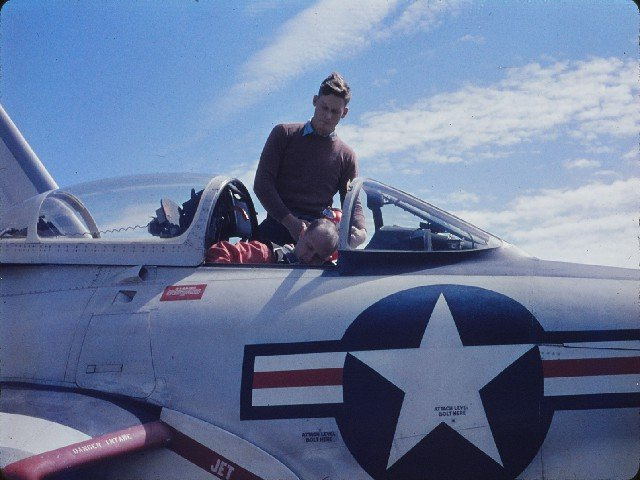 G.C. Vaught in F9-8P Crusader